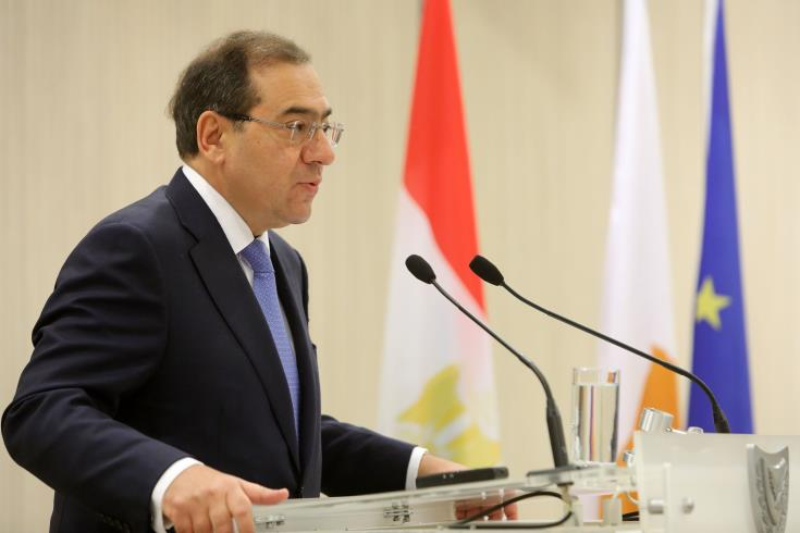 Egypt's Petroleum Minister:  keen investor interest in Egypt-Cyprus Aphrodite field agreemeny