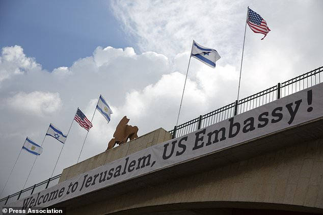 Thousands celebrate Jerusalem Day as US embassy set to open in city