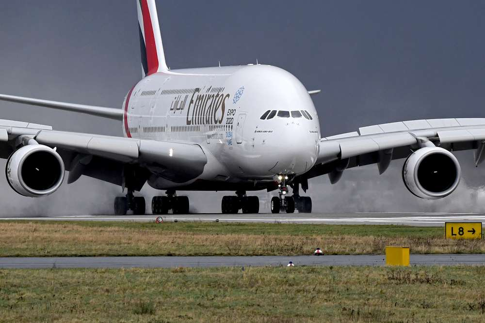 About 100 people fall ill on Emirates flight to New York -CDC