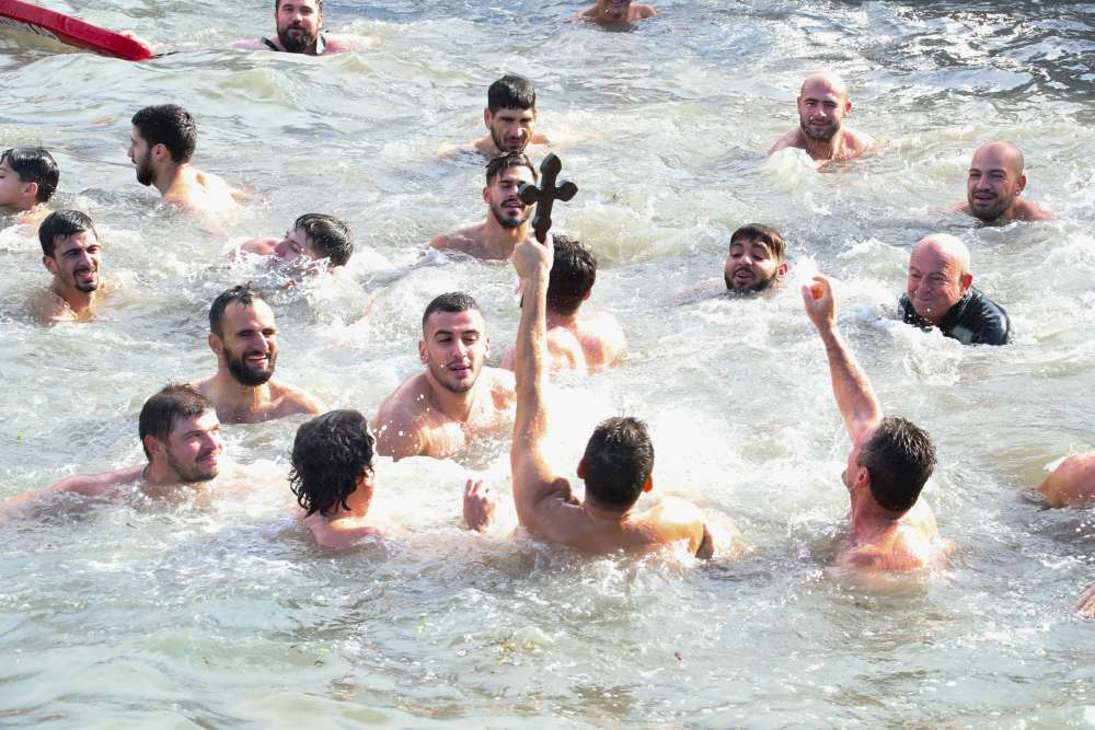Greek Cypriots mark Epiphany