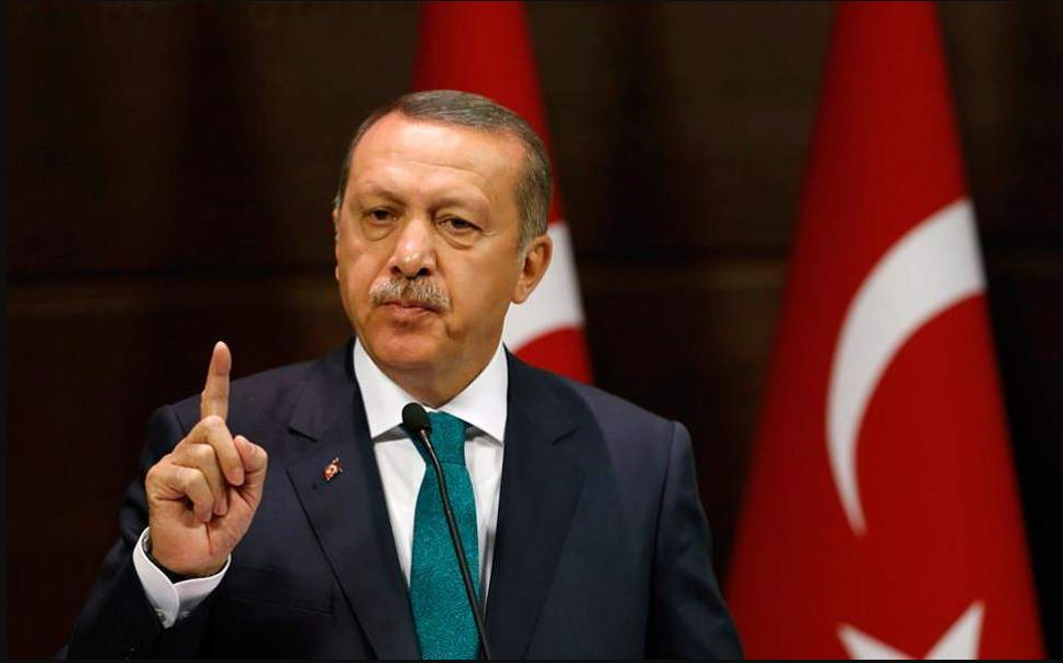 Erdogan says to challenge