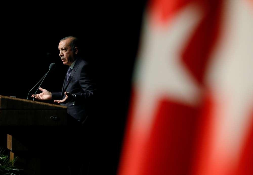Erdogan urges Saudis to say who ordered Khashoggi's killing