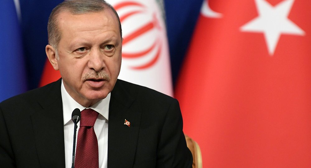 Erdogan says a U.S. refusal to give F-35s to Turkey would be