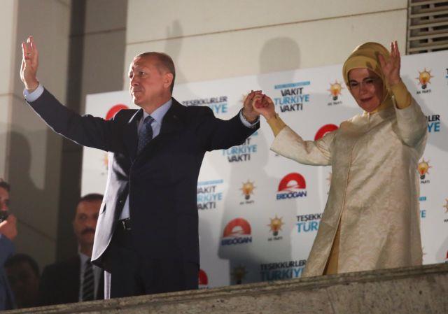 Erdogan wins presidential election