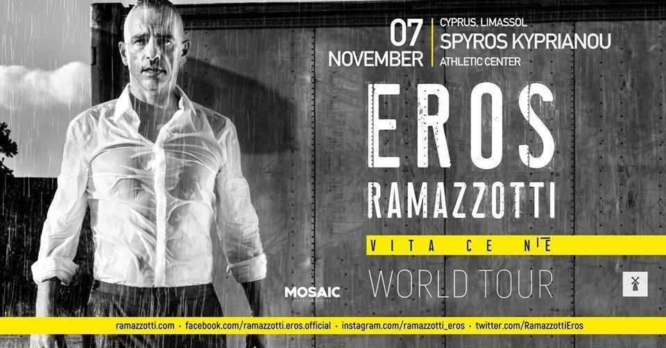 Eros Ramazzotti in Limassol