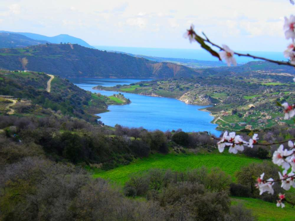Evretou Dam creates a beautiful lake everyone should see