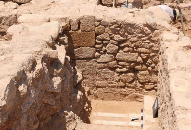 University of Cyprus excavations at Kouklia reveal complex architectural unit
