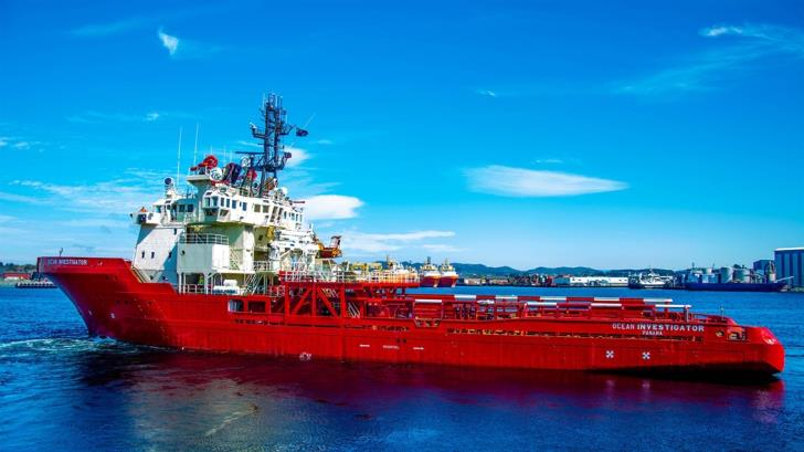 Exxon Mobil research vessel is expected to Cyprus on Wednesday