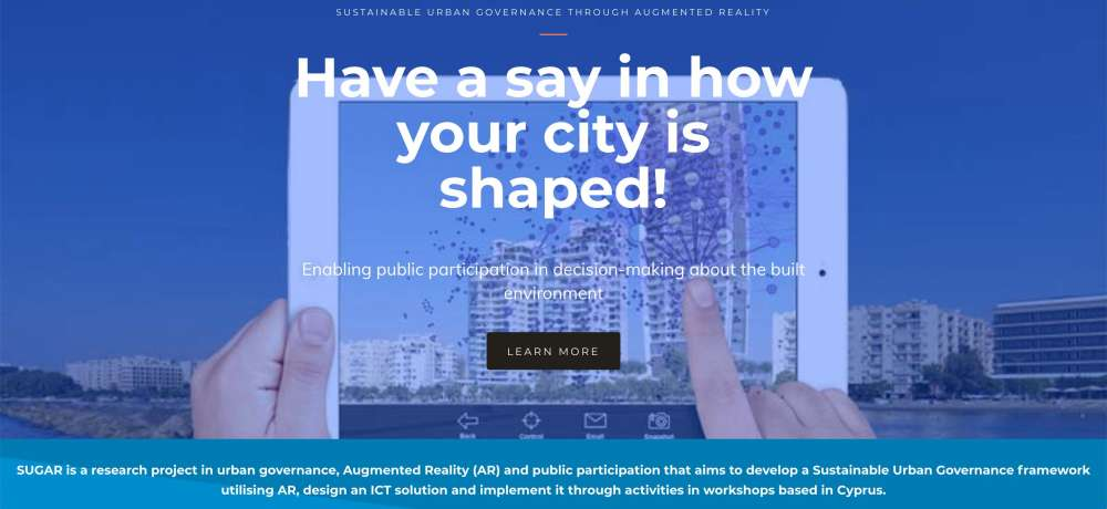 Sustainable Urban Governance through Augmented Reality project launches in Cyprus