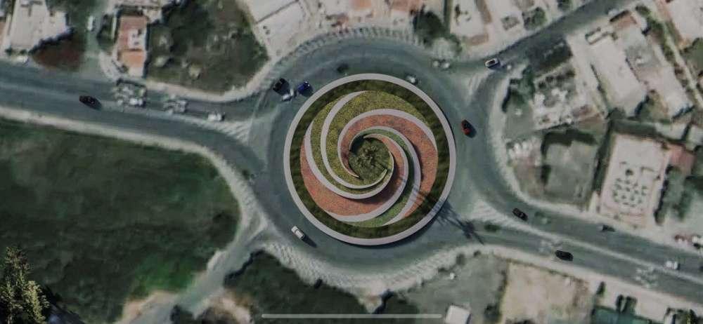 Larnaca: Work starts on Phaneromeni roundabout revamp