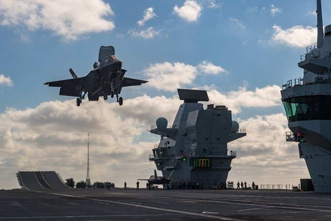 UK military's F-35 stealth jets set for first deployment in Cyprus (video)