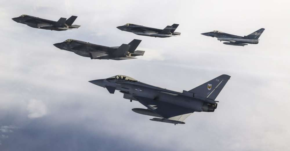 UK F-35s in first operational mission against IS from RAF Akrotiri