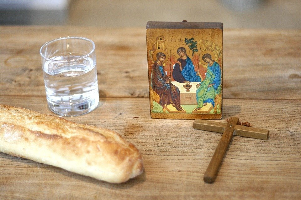 Fasting, Lent, Abstinence, Diet, Religion, Icon, Cross