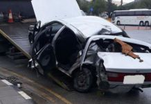 Fatal road accident in Kaimakli