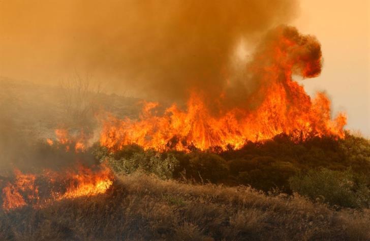 Update: Fire near Pachna under control
