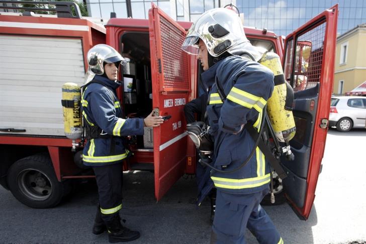 Arson attack on three Limassol flats