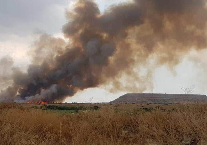 Large fire threatening parts of north Nicosia (photos)