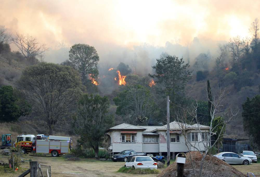 Australia's east coast battles more than 100 bushfires