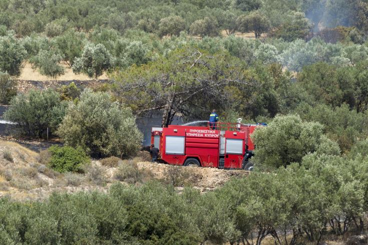 Update: Ayios Athanasios fire partially contained