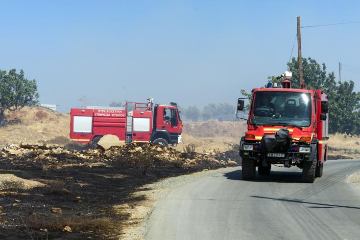 Fire near Polis Chrysochous contained