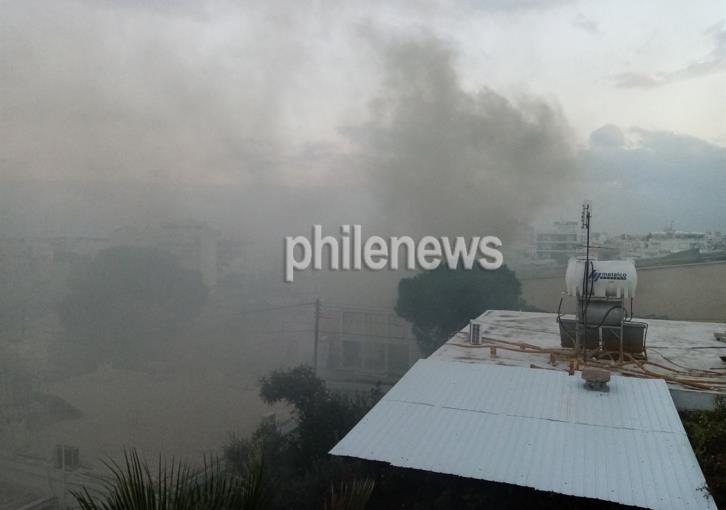 Nicosia: Smoke detected in Acropolis (photos)