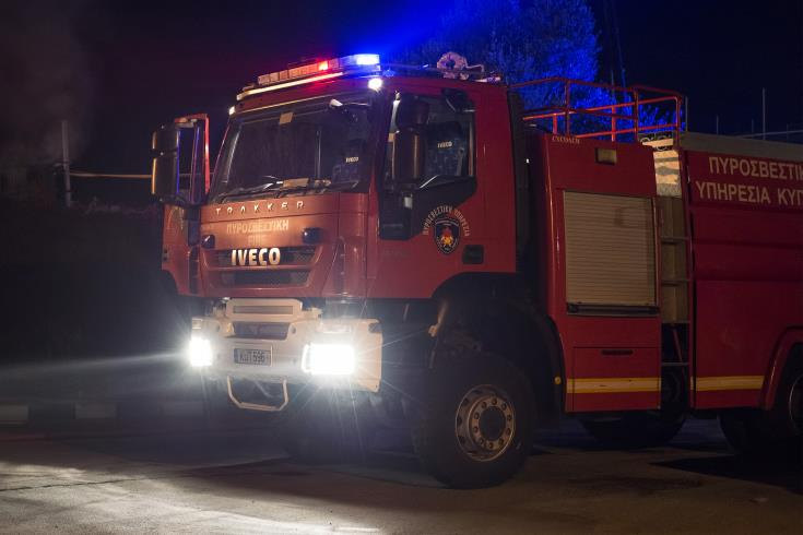 Man hospitalised after fire in trailer home