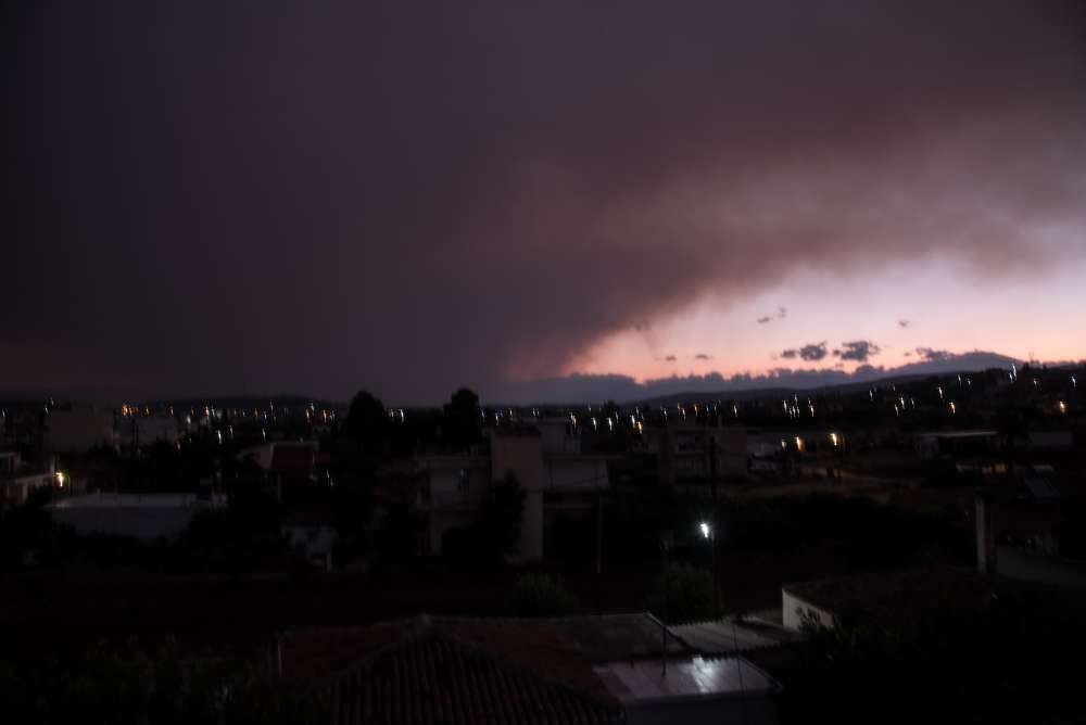 Greece battles wildfire on Evia island