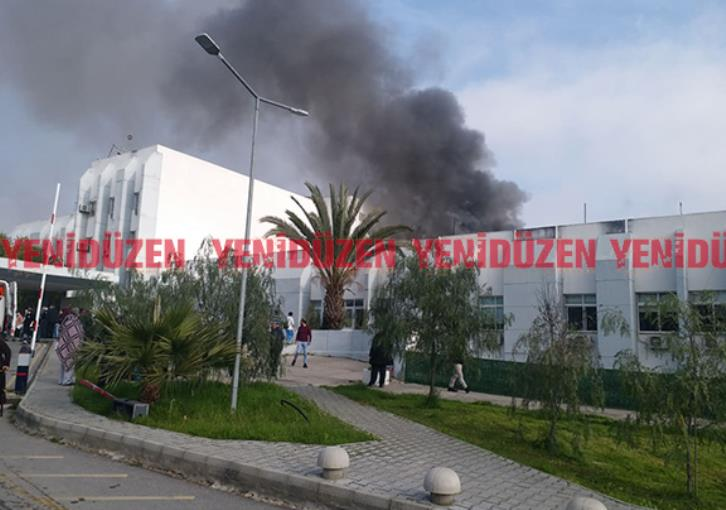 Fire breaks out at hospital in Turkish occupied Nicosia