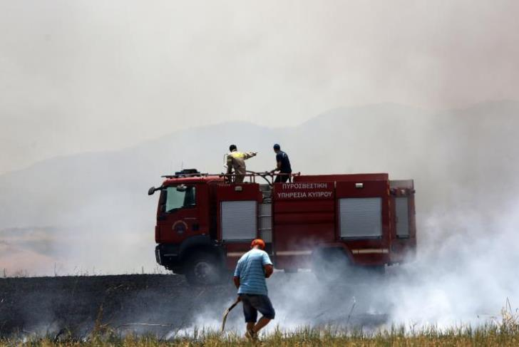 Fire Service operational readiness exercise at Dhekelia on Thursday