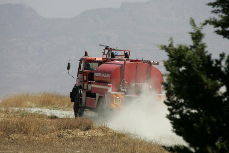 Fire in Letymbou under partial control