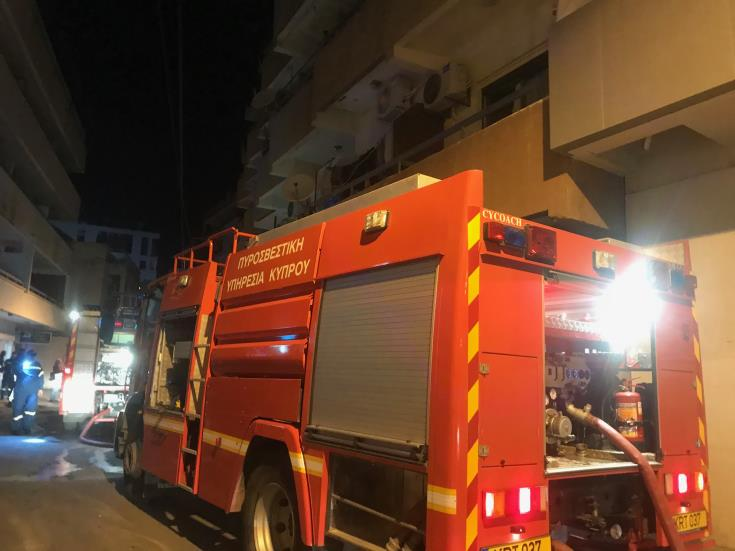 66 year old man dies after fire in Dherynia old people's home