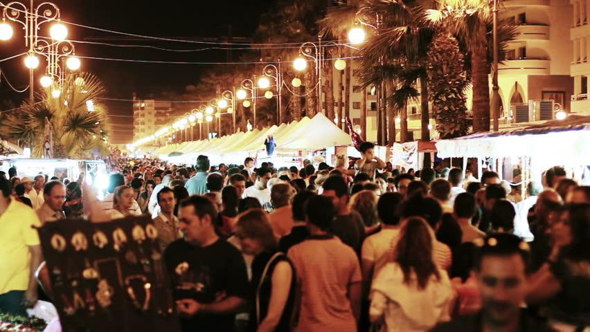 The Flood Festival (Kataklysmos) in Larnaka 2019