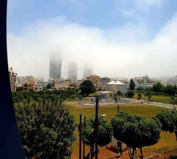 Thick fog reported in Limassol (photos)