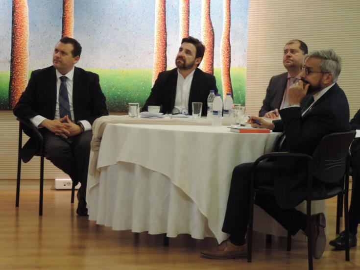 Athens-based ambassadors briefed over Cyprus' EEZ developments