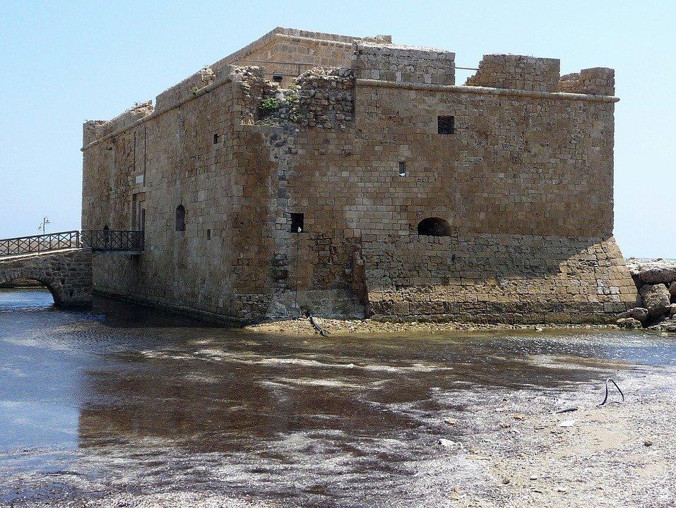 Fortress, Paphos, Cyprus, Landmark, Historic, Ruins
