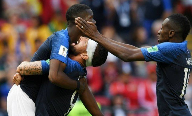 France passes first world cup test