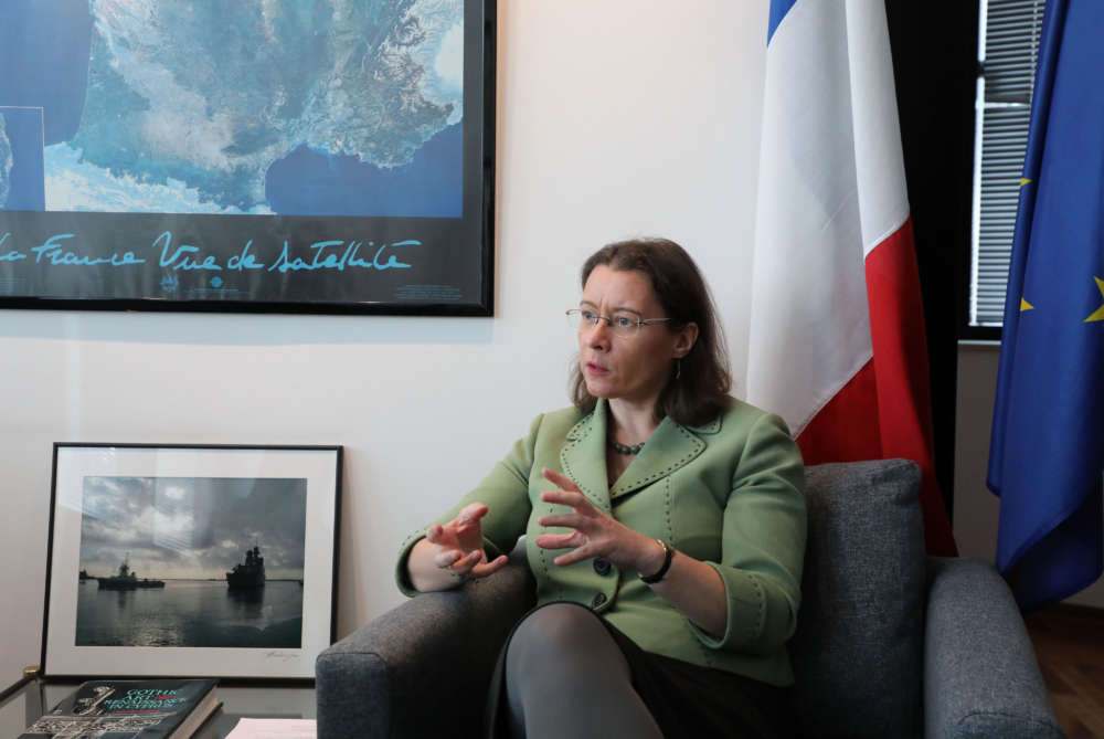 French ambassador:  Charles De Gaulle to dock in Cyprus next month (video)