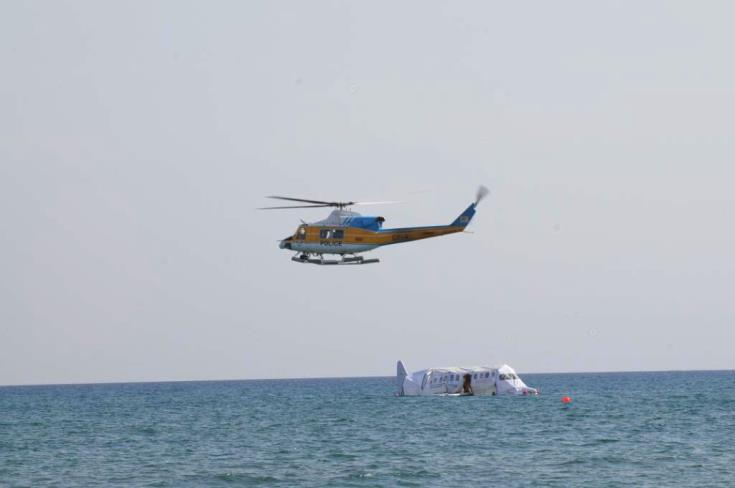 French military exercise in Paphos' skies