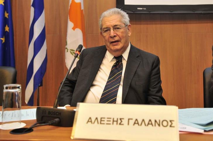 Galanos died of acute heart attack