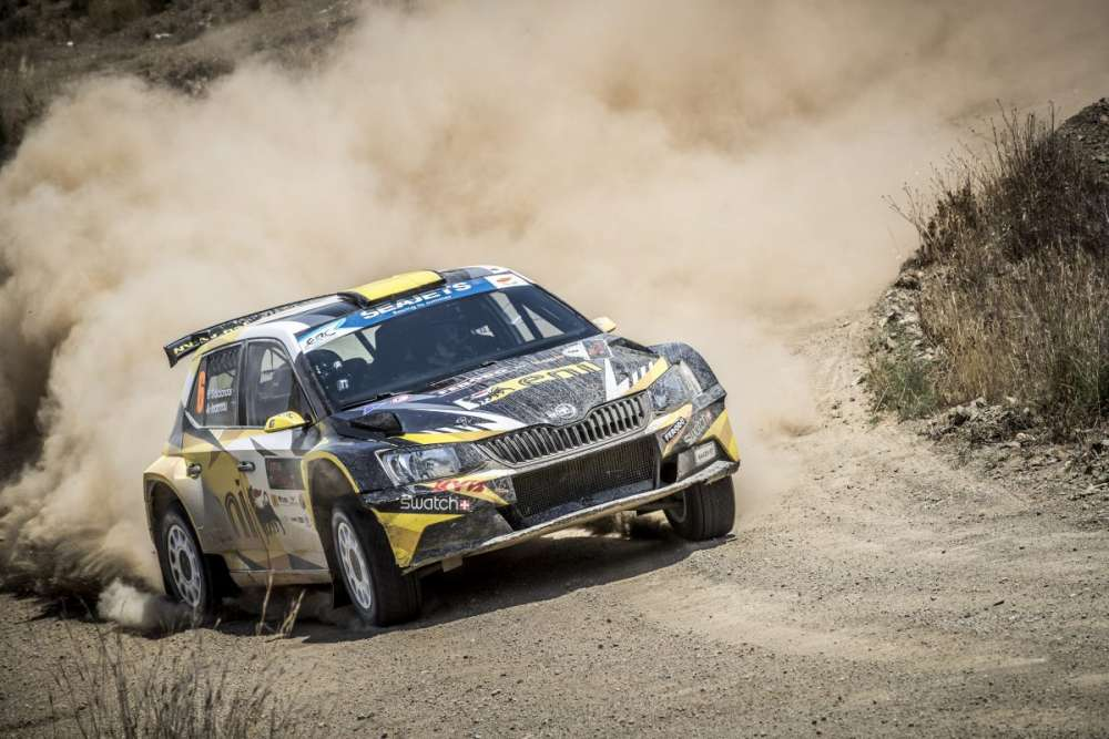 Galatariotis wins Cyprus rally by 0.6 seconds