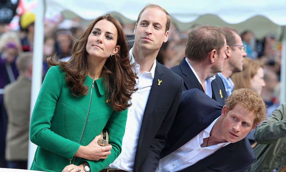 Kate Middleton & Prince Harry: The photos they didn't want you to see