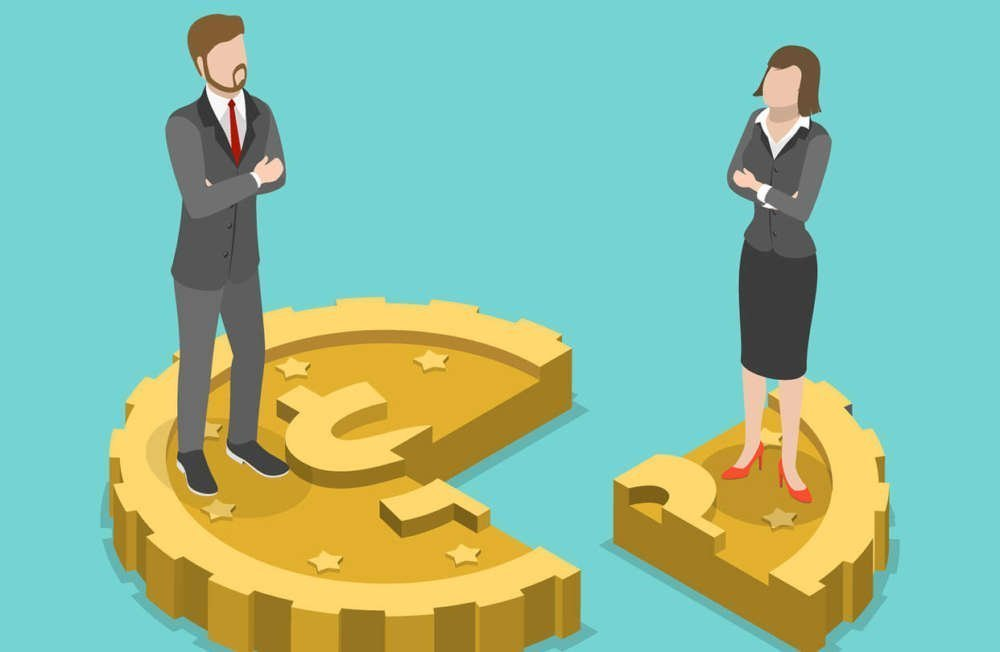 Cyprus - Salary gap between men and women for equal work at 13.7%