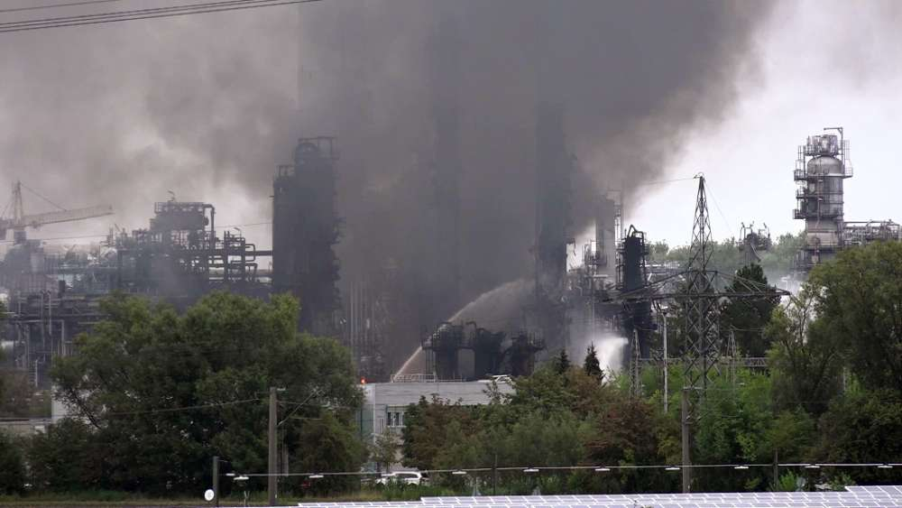 Fire at Germany's Vohburg refinery under control
