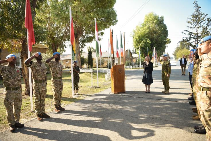 First peacekeeper from the Republic of Ghana deployed in UNFICYP