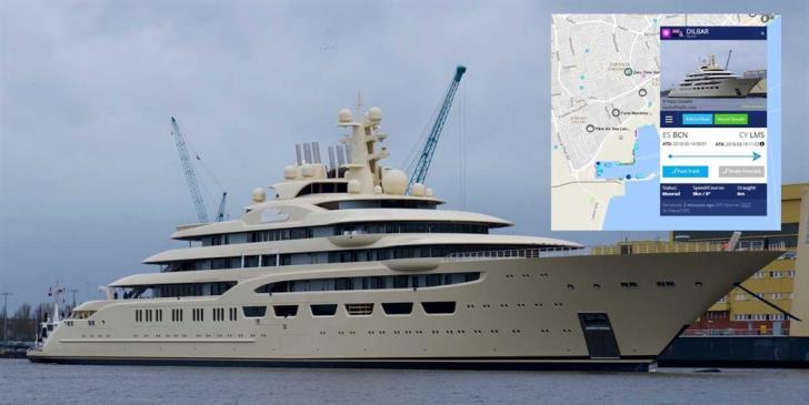 World's biggest sailing yacht in Limassol