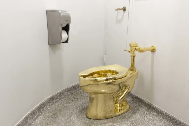 Thieves steal $5 m gold toilet from Britain's Blenheim Palace