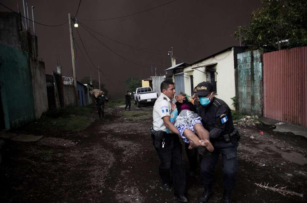 Guatemala's Fuego volcano eruption kills 25