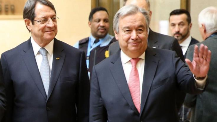 UNSG says his envoy will continue Cyprus discussions despite low expectations for progress