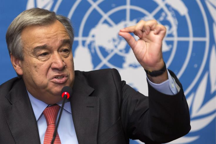 Guterres says Cyprus leaders need to agree on terms of reference