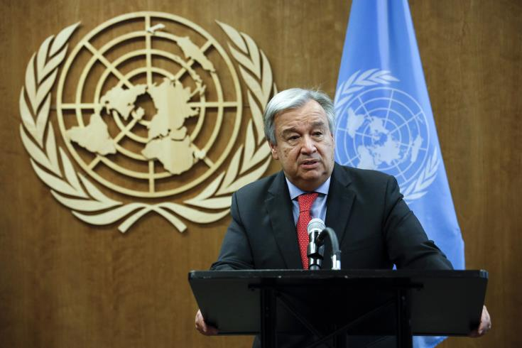 UN Secretary General sends letter to President Anastasiades on Famagusta and terms of reference